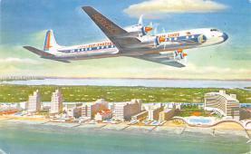 sub060115 - Airplane Post Card