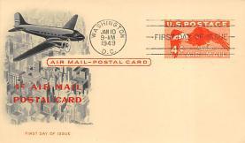 sub060131 - Airplane Post Card