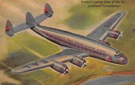 sub060141 - Airplane Post Card