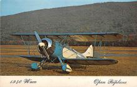 sub060153 - Airplane Post Card