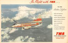 sub060195 - Airplane Post Card