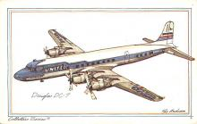 sub060209 - Airplane Post Card