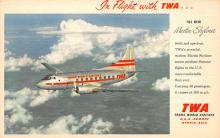 sub060213 - Airplane Post Card
