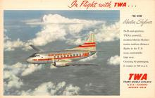 sub060233 - Airplane Post Card