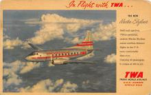 sub060249 - Airplane Post Card