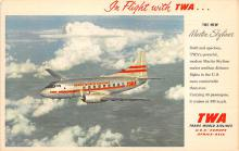 sub060253 - Airplane Post Card