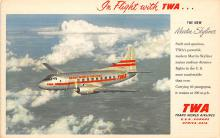 sub060257 - Airplane Post Card