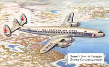 sub060281 - Airplane Post Card