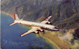 sub060333 - Airplane Post Card
