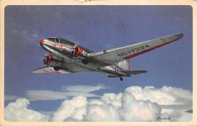 sub060345 - Airplane Post Card