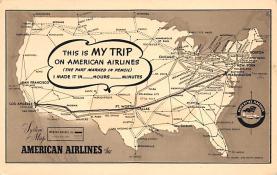 sub060347 - Airplane Post Card