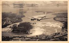 sub060349 - Airplane Post Card