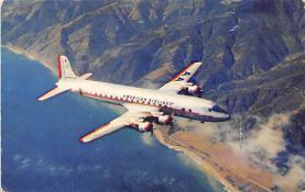 sub060353 - Airplane Post Card