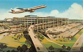 sub060355 - Airplane Post Card