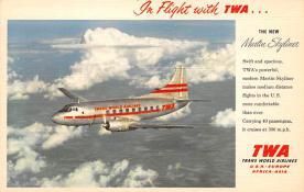 sub060367 - Airplane Post Card