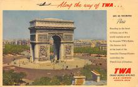 sub060379 - Airplane Post Card