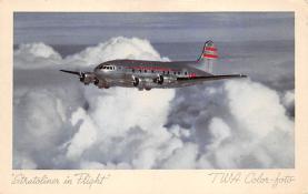 sub060381 - Airplane Post Card