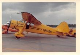 sub060393 - Airplane Post Card