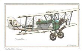 sub060397 - Airplane Post Card