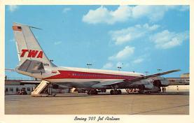 sub060401 - Airplane Post Card