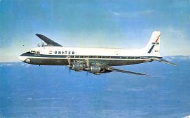 sub060407 - Airplane Post Card