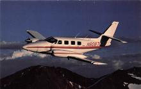 sub060421 - Airplane Post Card