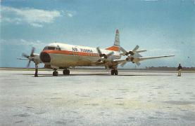 sub060427 - Airplane Post Card
