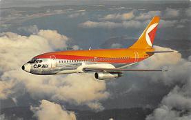sub060439 - Airplane Post Card