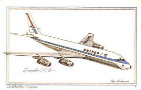 sub060477 - Airplane Post Card