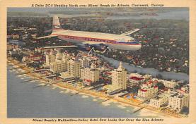sub060489 - Airplane Post Card