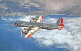 sub060493 - Airplane Post Card