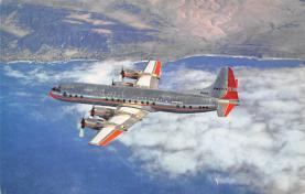 sub060495 - Airplane Post Card