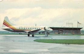 sub060497 - Airplane Post Card