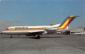sub060517 - Airplane Post Card