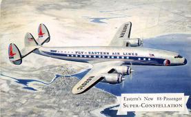 sub060525 - Airplane Post Card