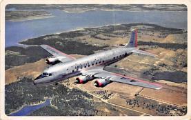 sub060581 - Airplane Post Card