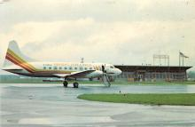 sub060585 - Airplane Post Card
