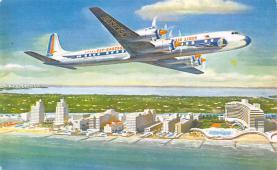 sub060589 - Airplane Post Card