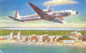 sub060591 - Airplane Post Card