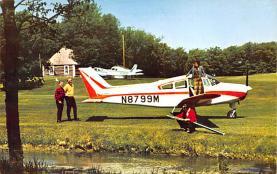 sub060609 - Airplane Post Card