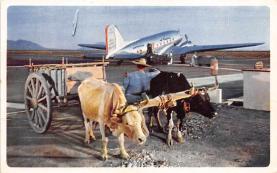 sub060617 - Airplane Post Card