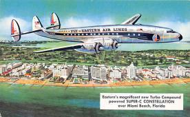 sub060625 - Airplane Post Card
