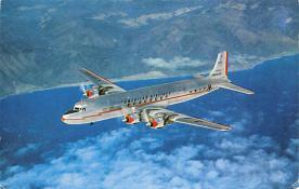 sub060673 - Airplane Post Card