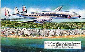 sub060683 - Airplane Post Card
