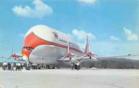 sub060685 - Airplane Post Card