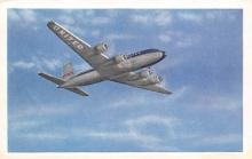 sub060695 - Airplane Post Card
