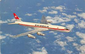sub060703 - Airplane Post Card