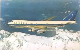sub060705 - Airplane Post Card