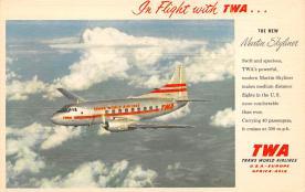 sub060717 - Airplane Post Card