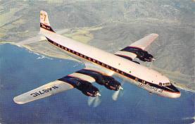 sub060737 - Airplane Post Card